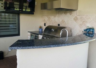Lakewood Ranch Outdoor Kitchen Counter
