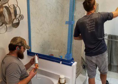 Bathroom Remodel In Progress 16